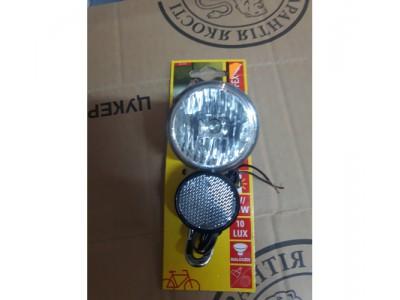 Велосипедный фонарь PROFEX halogen для динамо